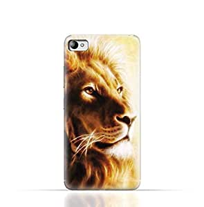 Lenovo S90 Sisley TPU Silicone Case with Lion Portrait Air Brush Pattern