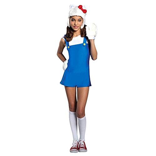 Hello Kitty Girl's Costume, -