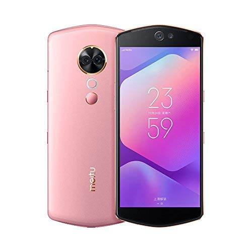 742e294507e Amazon.com  Original New Meitu T9 Selfie Beauty Phone 6GB 128GB Red Pink  Orange Blue Green (No Warranty)(China Version) (Pink)  Cell Phones    Accessories
