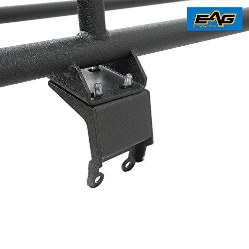 Eag 4 Door Roof Rack Cargo Basket With Wind Deflector Fit
