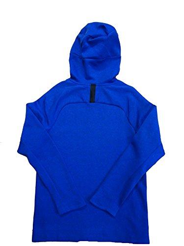 Nike Sportswear Hombres Tech Fleece Funnel Sudadera Con Capucha Y Cremallera 805214 Jacket Blue Black 402