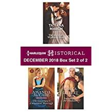 Harlequin Historical December 2018 - Box Set 2 of 2: The Marshal's Wyoming Bride\The Governess's Convenient Marriage\Forbidden to the Gladiator