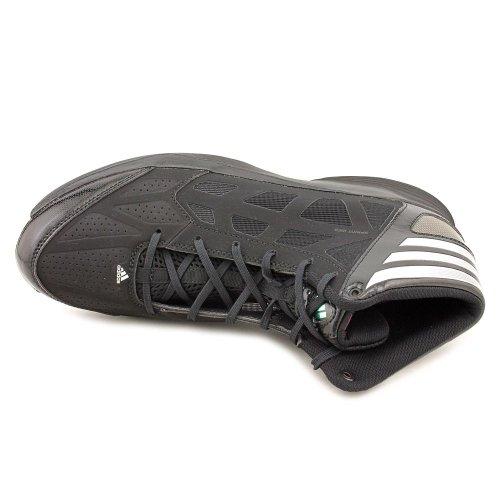 Adidas Mens Crazy Shadow 2 - Nero / Nero / Bianco Corrente - 8.5