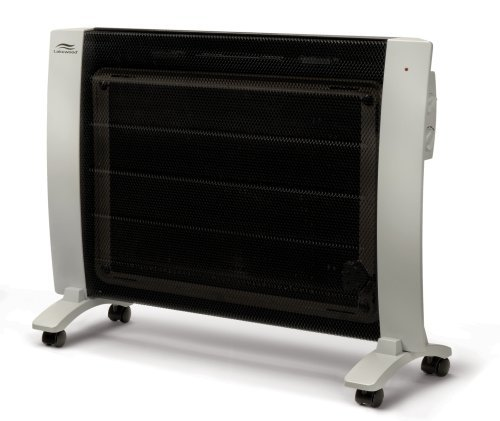 Lakewood EP-2000 Ultra-Thin Dual-Power 1000/1500-Watt Flat-Panel Heater with Electrothemic...