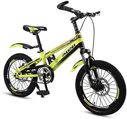 MDBYMX Bicicleta Infantil Bicicleta for niños Estudiante Bicicleta ...