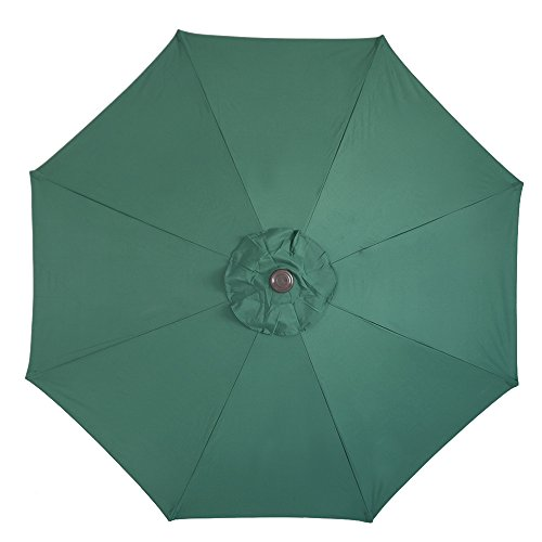 Le Papillon 9 ft 8 Ribs Patio Umbrella Replacement Top Cover, (Umbrella Top)