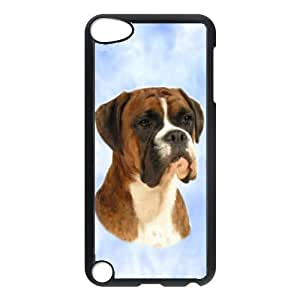 Custom Boxer Brindle Dog Hard Case Clip on Back Cover for Ipod touch5