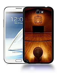Sports Bastketball Court Field Phone Case Cover Designs for Samsung Galaxy Note 2
