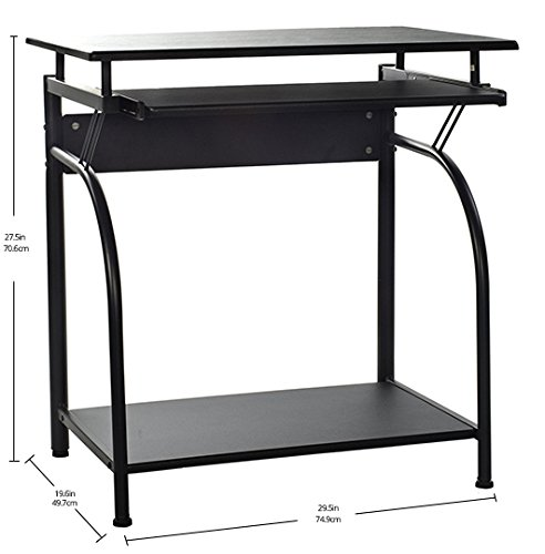 046854169432 - OneSpace 50-1001 Stanton Computer Desk with Pullout Keyboard Tray carousel main 6