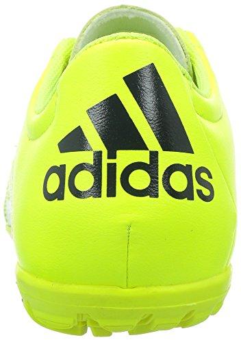 adidas X 15.3 TF Leather - Botas para hombre Lima / Negro
