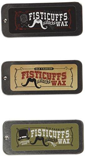 Fisticuffs Mustache Wax 3 Pack by Fisticuffs Mustache Wax