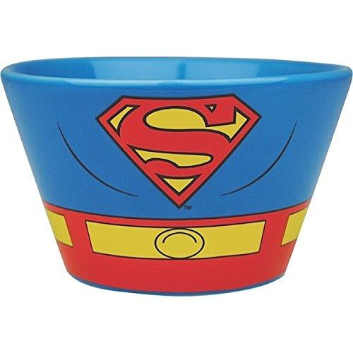 (Superman Costume Ceramic Bowl)
