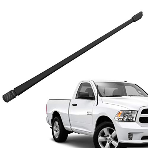 patible with 2012-2018 Dodge Ram 1500 | 13 inches Flexible Rubber Antenna Replacement | Designed for Optimized FM/AM Reception ()