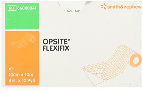 Transparent Film Opsite Adhesive (5466000041EA - Opsite Flexifix Transparent Adhesive Film Dressing 4 x 11 yds.)