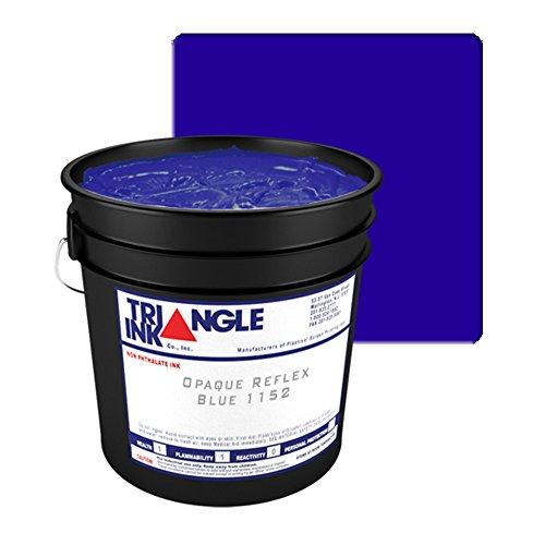 TRIANGLE Screen Printing Plastisol Inks 1152 OPAQUE REFLEX BLUE (1 - Triangle Reflex