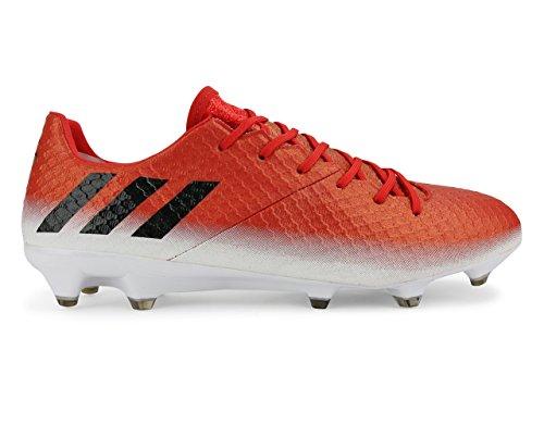 Scarpe Da Calcio Adidas Mens Messi 16.1 Fg Rosso / Nero / Bianco
