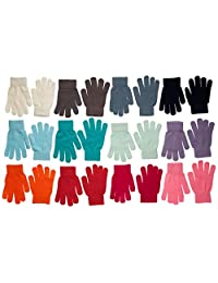 High Desert Gear 12 Pairs Winter Magic Gloves Mittens (Assorted 1)