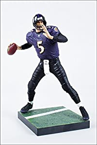 Joe Flacco Baltimore Ravens McFarlane NFL Series 33 CLARKtoys Exclusive by Unknown