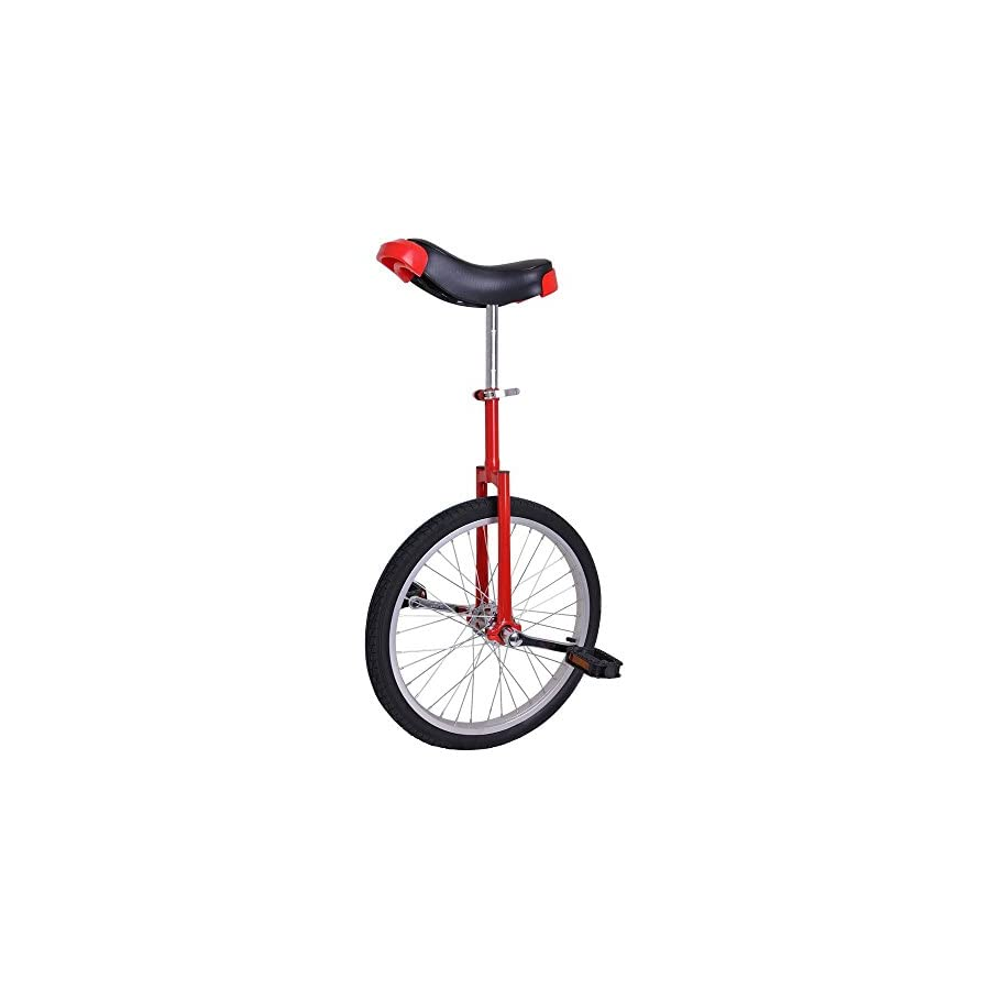 """Triprel Inc 20"""" Inch Wheel Performance Unicycle RED"""