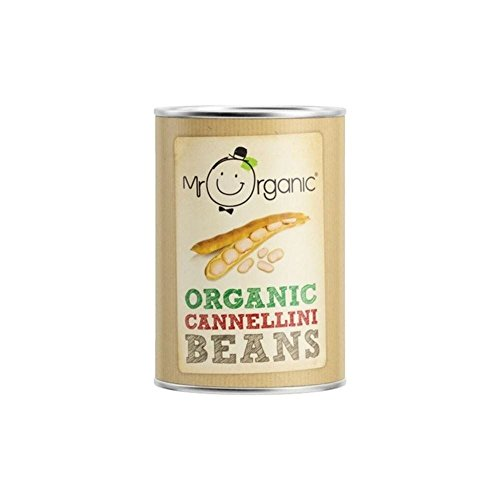 Mr Organic Cannellini Beans (400g) - Pack of 6 by Mr Organic