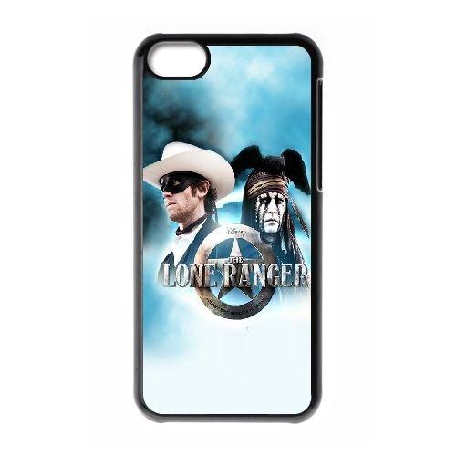 Le cas de téléphone cellulaire 5c Lone Ranger OQ86QV5 coque iPhone coque L3GV7Z4WK