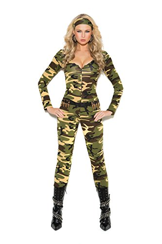 Women's Sexy Soldier Adult Role Play Costume