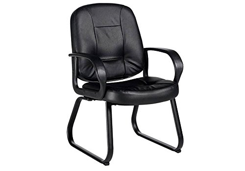 Arno Leather - Black Leather Arm Chair Black Leather Dimensions: 24.5