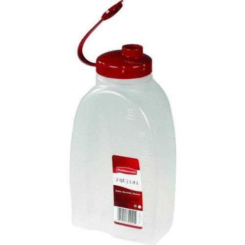 Servin Saver Bottle (Rubbermaid Servin Saver White Bottle 2 Qt. by Rubbermaid)