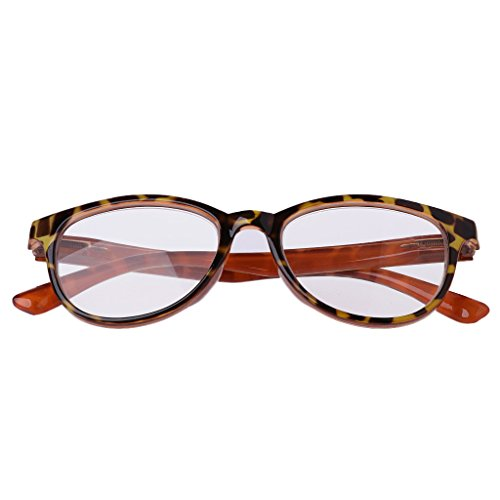 Bubile Unisex Reading Glasses Presbyopic Eyeglass Spectacles Resin Lens +1.0~To 3.5 (+1.5, - Without Spectacles Power