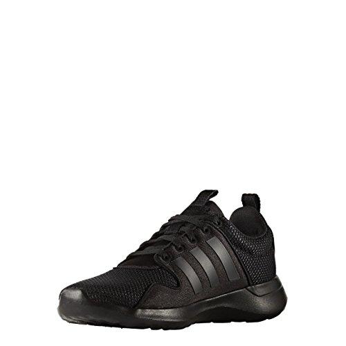 Cloudfoam Femme negbas Lite Noir Racer Sneaker Eu 45 negbas Adidas Basses W negbas qgBwdBTS