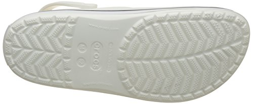 mixte 100 enfant Sabots Crocs Band White Weiß wzqYBEtB