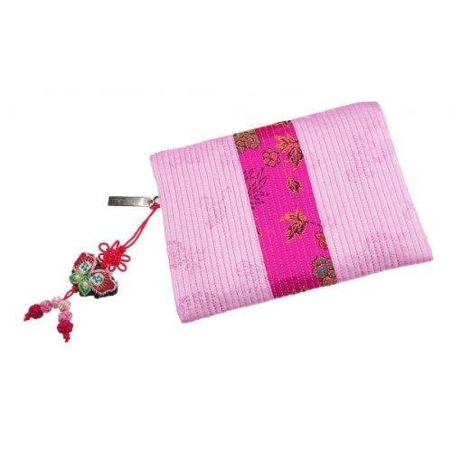 Amazon.com: Muy Útil forma rectangular Rosa tela cartera ...