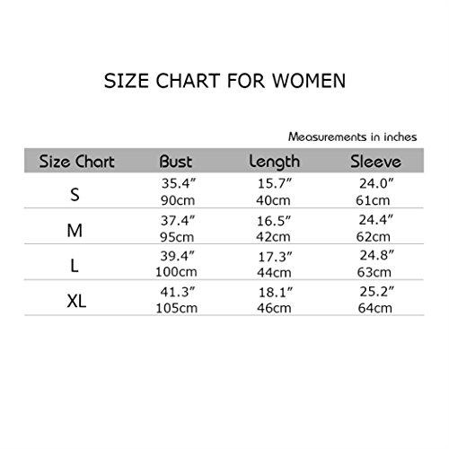 Yeesea Mujers con Capucha del Suéter Camisa Corta Otoño Camisetas De Manga Larga Sudaderas Crop Tops Gris