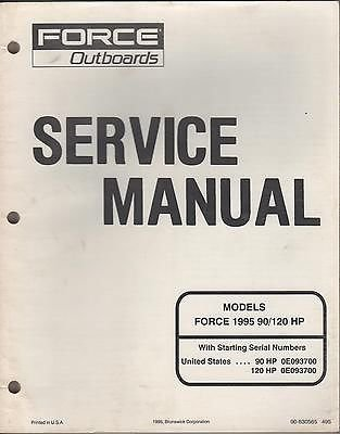 (1995 Force Outboards 90/120 Hp (90-830565) Models Service Manual (214))