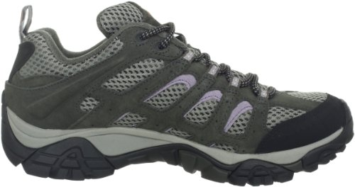 Merrell Womens Moab Ventilator Hiking Shoe Beluga / Lilac