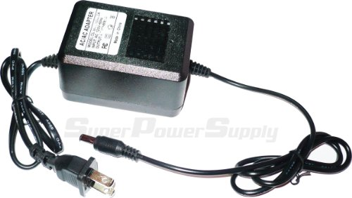 Super Power Supply® AC / DC Adapter Charger Cord For Boss BRC120 Series compatible with: AF-70 DR-770 GR-33 GT-3 GT-6 GT-6B GT-8 GX-700 JS-5 Guitar Bass Amp Effect Pedal Replacement Wall Plug