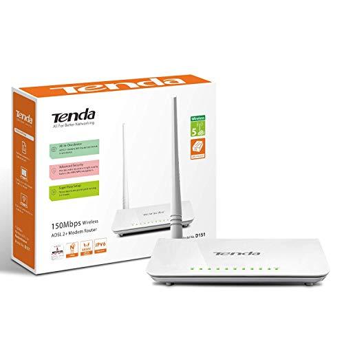 (Renewed) TENDA TE-D151 Wireless N150 ADSL2+ modem router