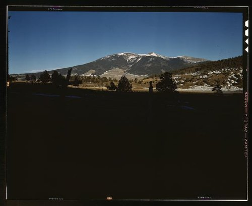 Photo: Moreno Valley,mountains,World War,Colfax County,New Mexico,John - Stores Valley Moreno In