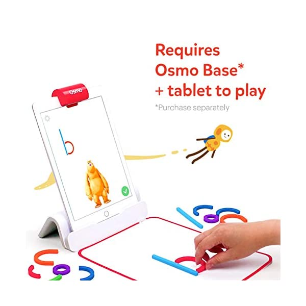 Osmo 902-00017 - Bastoni e anelli con ABC e giochi magici Squiggle (2019), giocattolo educativo, multicolore 2 spesavip