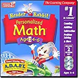 The Best Reader Rabbit Personalized Math 4-6 Deluxe-378475 - Builds early math skills while enhancing an appreciation for numbers. Children explore number concepts in a series of fun games. Features the interactive A.D.A.P.T. Learning Technology. Builds e
