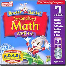 Reader Rabbit Personalized Math 4-6 Deluxe