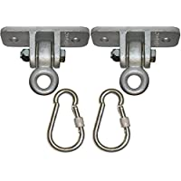 Jungle Gym Kingdom 2 Heavy Duty Swing Hangers with...
