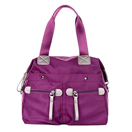 Sacs Nylon Épaule Casual Mode Crossbody Satchel Bag Messenger De CHENGYI Dames Purple Voyage qnvHxHU