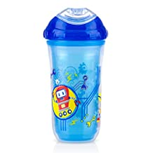 Nuby Insulated Cool Sipper 9oz Blue