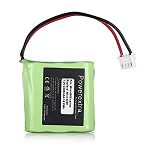 Powerextra 2200mAh High Capacity 7.2V Replacement Battery for iRobot Braava 320/321 & Mint 4200/4205