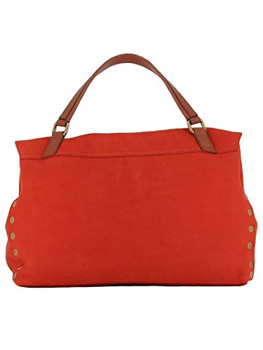 Unique Rouge Zanellato à pour Main Rouge Femme Taille Sac n00qP8xr4