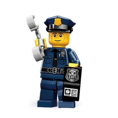 (LEGO 71000 Minifigure Series-9 Police Man)