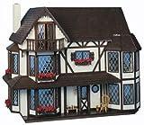 The Harrison Dollhouse Kit - Greenleaf