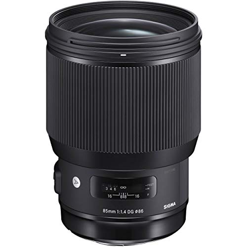 Sigma 85mm f/1.4 DG HSM Art Lens for Canon EF (321954)