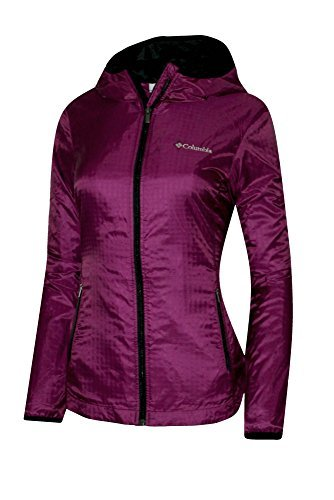 Columbia Women's Queen Pass Spring Full Zip Hooded Plush Lined Jacket (L) (Jacket Hooded Plush)